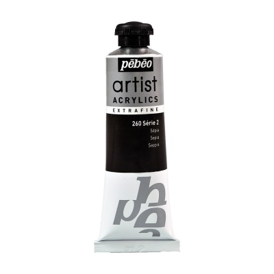 Акриловая краска Pebeo Artist Acrylics extra fine №2 сепия 37 мл