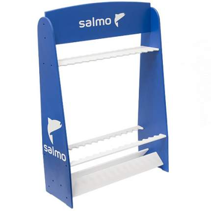 Стойка деревянная, под удилища Salmo, синяя