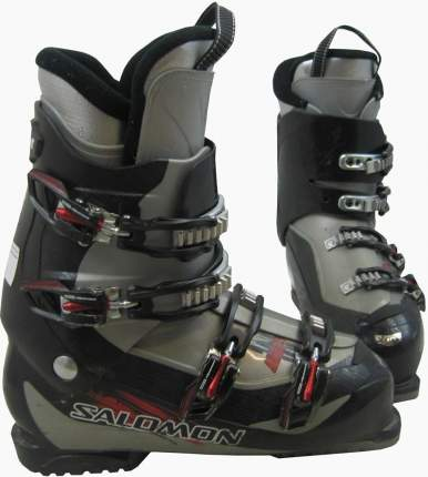 Горнолыжные ботинки Salomon Mission 550 2014, black/silver, 25