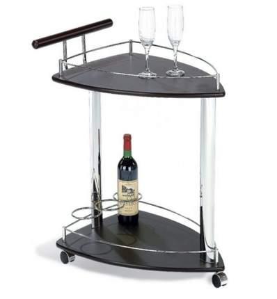 Сервировочный столик Red and Black SC-5068-WD Темный орех