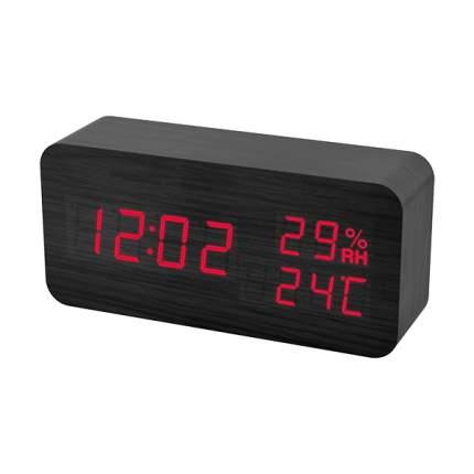 Электронные часы Perfeo Wood Black