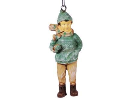 Елочная игрушка Hogewoning 4х2х9 см 1 шт 400250-040