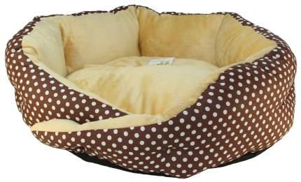 Лежак для собак и кошек Xody Сказка, мех, 52х52х15 см