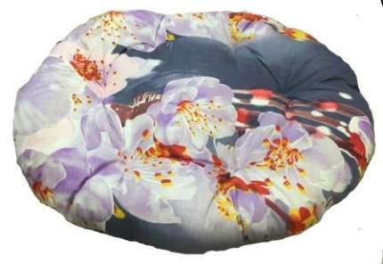 Лежак для собак и кошек Xody Овальный Эконом №3, цвета в ассортименте, 56х50 см