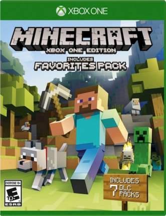 Игра Minecraft. Favorites Pack для Xbox One