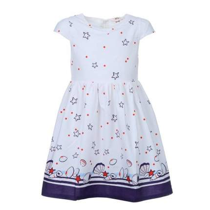 Платье Happy Bear, цв. белый, 116 р-р