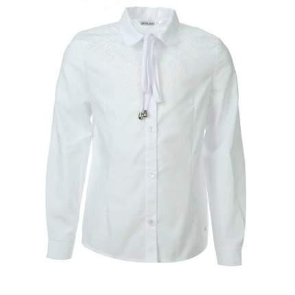 Блузка UNONA D'ART, цв. белый, 134 р-р