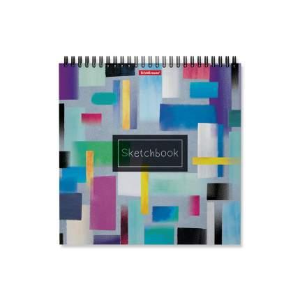 Альбом для эскизов на спирали ErichKrause® Абстракция, 220х220 мм, 40 листов