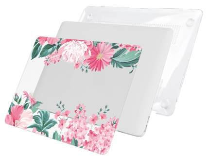 "Чехол для Macbook Pro 13"" i-Blason Cover A1706/A1708 pink floral"