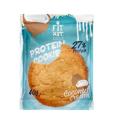 Fit Kit Protein Cookie 40 г Кокосовый крем