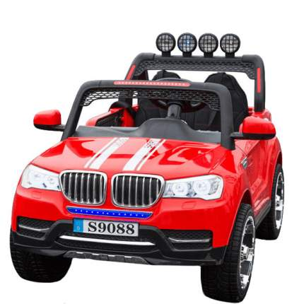 Двухместный электромобиль Barty BMW Т003МР (S9088) 4Х4, Красный