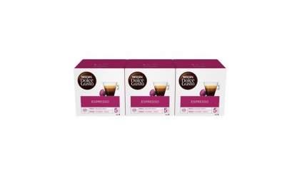 Кофе в капсулах Nescafe Dolce GustoЭспрессо 3 штуки по 16 капсул