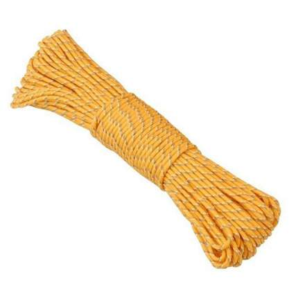 Веревка люминесцентная AceCamp Polypro Rope 4 мм x 20 м 9072-yellow