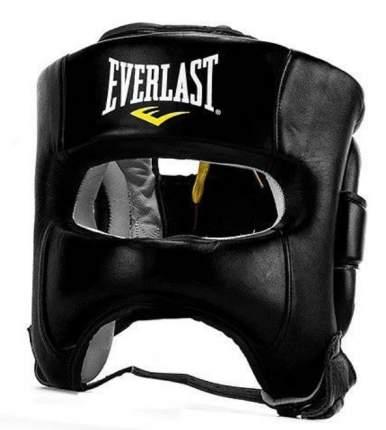 Шлем боксерский Everlast Elite Leather, S-M, нат. кожа