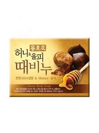 Косметическое мыло Mukunghwa Honey & Chestnut Scrub Soap