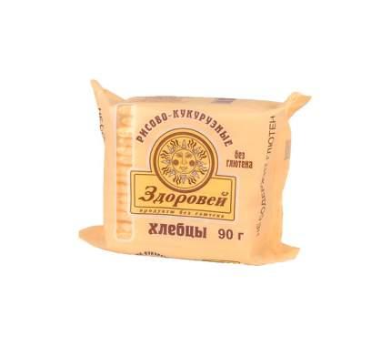 Здоровей Хлебцы Здоровей без глютена 90 гр Рисовые с кукурузой