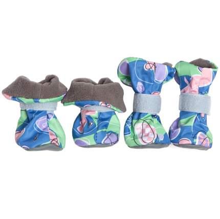 Ботинки для собак OSSO Fashion, на флисе, для мелких пород, размер S