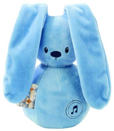 Игрушка мягкая Nattou Musical Soft toy Lapidou Кролик jeans
