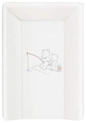 Матрац пеленальный Ceba Baby Papa Bear white W-201-004-100