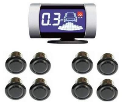Парктроник передний и задний ParkMaster 8-DJ-27 (27-8-A) Black
