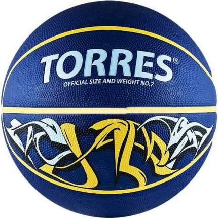 Баскетбольный мяч Torres Jam №3 blue