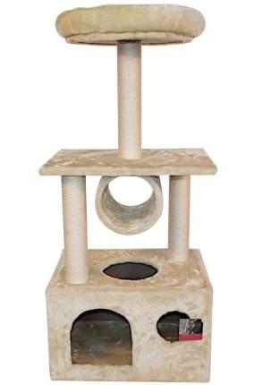 Комплекс для кошек Pet Choice с домиком (50 x 35 х 116 см, Бежевый)