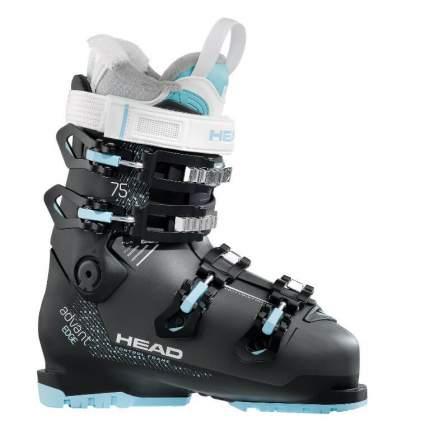 Горнолыжные ботинки HEAD Advant Edge 75 W 2018, anthracite/black/turquoise, 24.5
