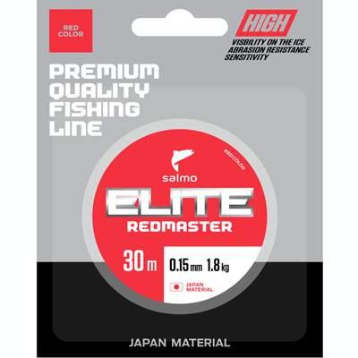 Леска монофильная Salmo Elite Redmaster 0,17 мм, 30 м, 2,85 кг