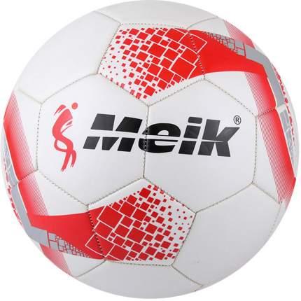 Футбольный мяч Meik 081-33 №5 white/red