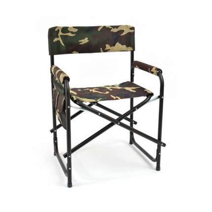 Кресло складное Кедр SK-02 с карманом на подлокотнике (сталь 22мм, 56х57х50см)