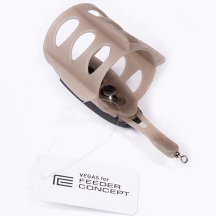 Кормушка Feeder Concept Vegas овал, на плоской основе, 56 г
