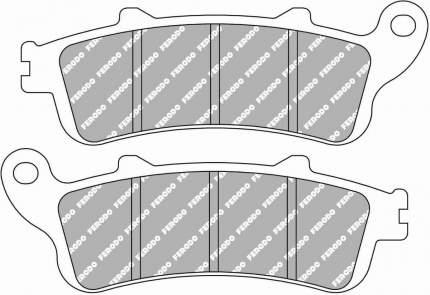 Тормозные колодки передние/задние Ferodo FDB2073P для мотоциклов