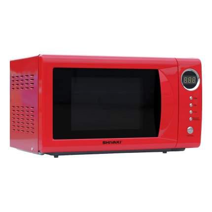 Микроволновая печь соло SHIVAKI SMW2034ER Red