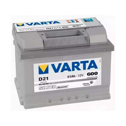Аккумуляторная Батарея Silver Dynamic 19.5/17.9 Евро 61ah 600a 242/175/175 Varta