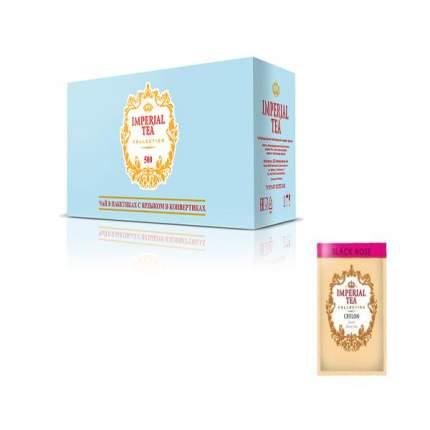 Чай черный  с розой  Imperial tea collection  500 пакетиков