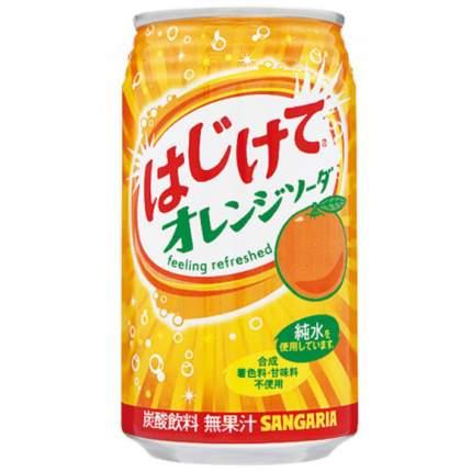Напиток  Sangaria оrange со со вкусом апельсина жестяная банка  0.35 л