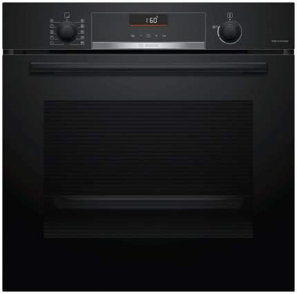 Встраиваемый электрический духовой шкаф Bosch HBG516BB0R Black