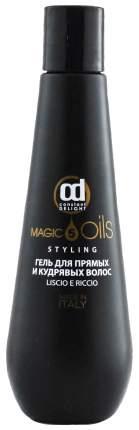 Гель для укладки Constant Delight 5 масел Для прямых и кудрявых волос 200 мл