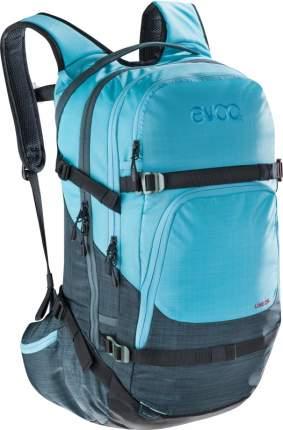 Рюкзак для лыж и сноуборда EVOC Line, heather slate/heather neon blue, 28 л