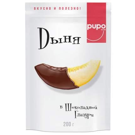 Конфеты Pupo дыня в шоколадной глазури 200 г
