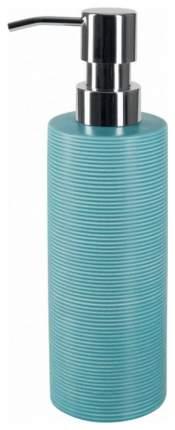 Дозатор для мыла Spirella Tube Ribbed Голубой