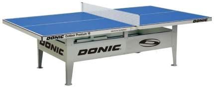 Теннисный стол Donic Outdoor Premium 10 синий, с сеткой