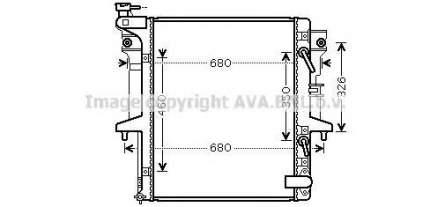 Радиатор Ava MT2205