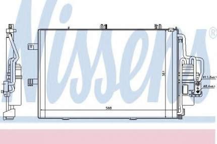 Радиатор кондиционера Nissens 94546