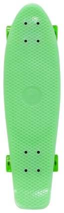 "Скейтборд Y-Scoo Big Fishskateboard Glow 27"" 402E-G с сумкой Green"