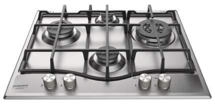 Встраиваемая варочная панель газовая Hotpoint-Ariston M 64 T GH IX Silver
