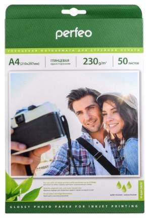 Фотобумага для принтера Perfeo PF-GLA4-230/50 Белый