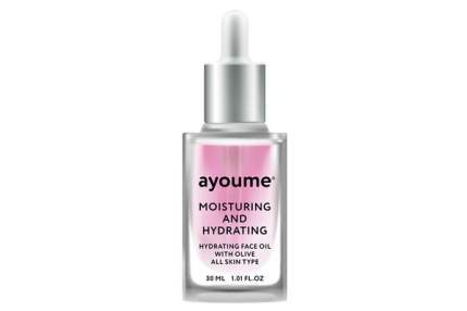 Масло для лица увлажняющее AYOUME Moisturing-&-Hydrating Face oil with Olive