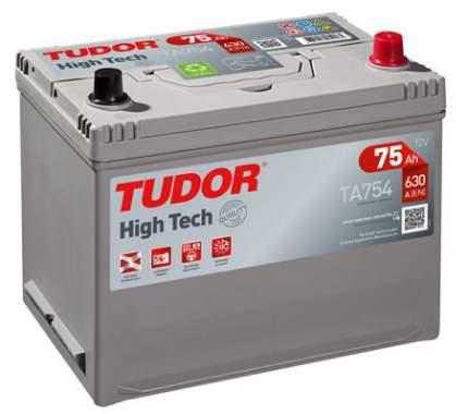Аккумулятор автомобильный TUDOR TA754 75 Ач