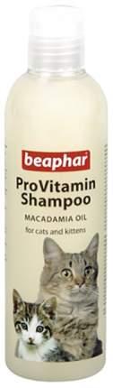 Шампунь для кошек Beaphar ProVitamin Macadamia Oil для чувствительной кожи, 250 мл